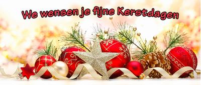 fijne kerstdagen banner