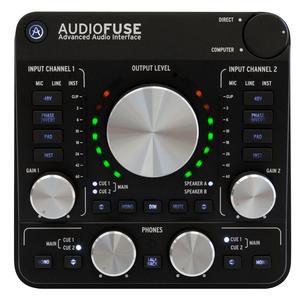 audiofuse deepblack topview