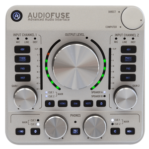 audiofuse classic silver topview