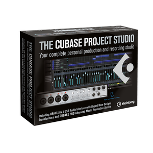 Steinberg Cubase Project Studio Box
