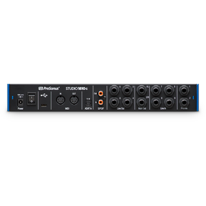 Presonus Studio 1810c Back